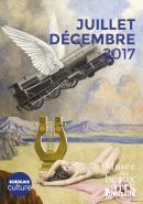 Agenda culturel Juillet - décembre 2017