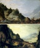"""Image de """"Paysage de montagne""""©Musée des Beaux-Arts-mairie de Bordeaux. Cliché L. Gauthier"""