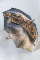 Parapluie inspiré d'une peinture de Gudin © musée des Beaux-Arts, photo : F. Deval