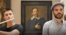 Street Def Records, Slam devant <i>L'homme à la main sur le cœur</i> de Frans Hals