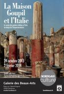 Affiche de l'exposition La Maison Goupil et l'Italie