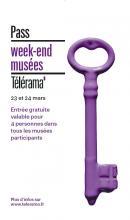 Affiche Pass week-end Télérama