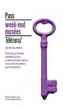 Affiche Pass week-end Télérama