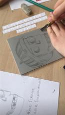 Atelier ados linogravure @ Musée des Beaux-Arts