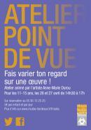 Atelier Point de vue, pour les ados, 26 & 27 avril 2017 musée des Beaux-Arts Bordeaux